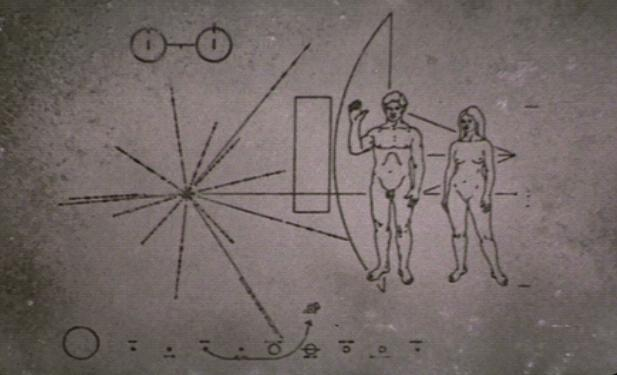space probe pioneer 10 plaque - photo #10