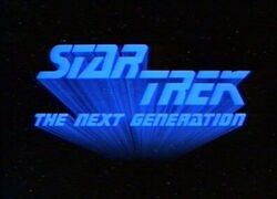 Star Trek The Next Generation logo