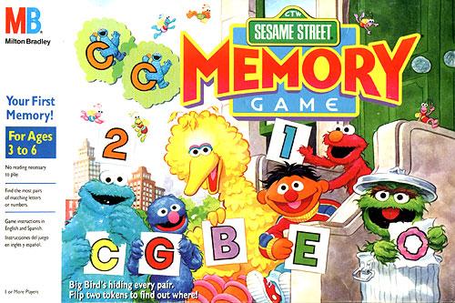 Sesame Street Memory Game - Muppet Wiki