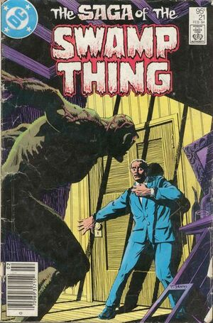 Cover for Swamp Thing #21 (1984)