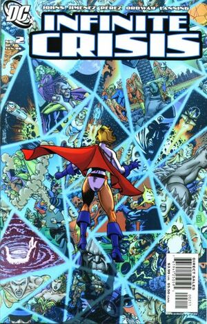 Cover for Infinite Crisis #2 (2006)