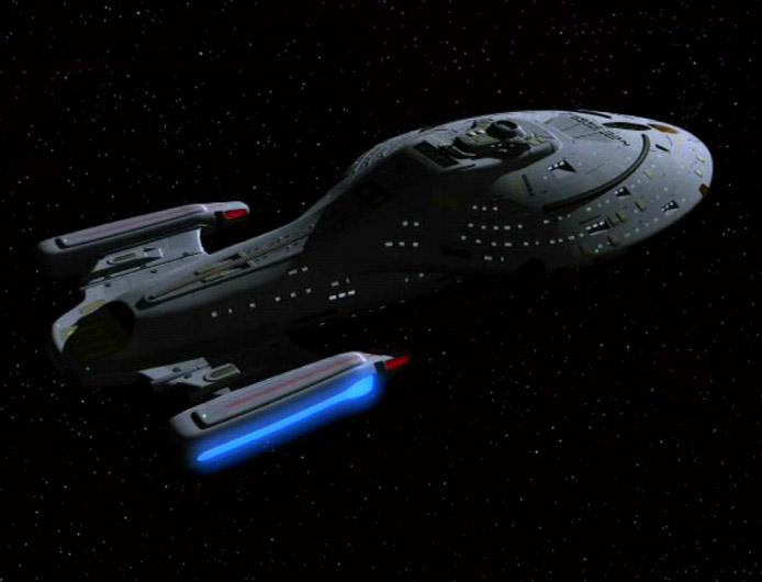 Tha Voyager Spaceship
