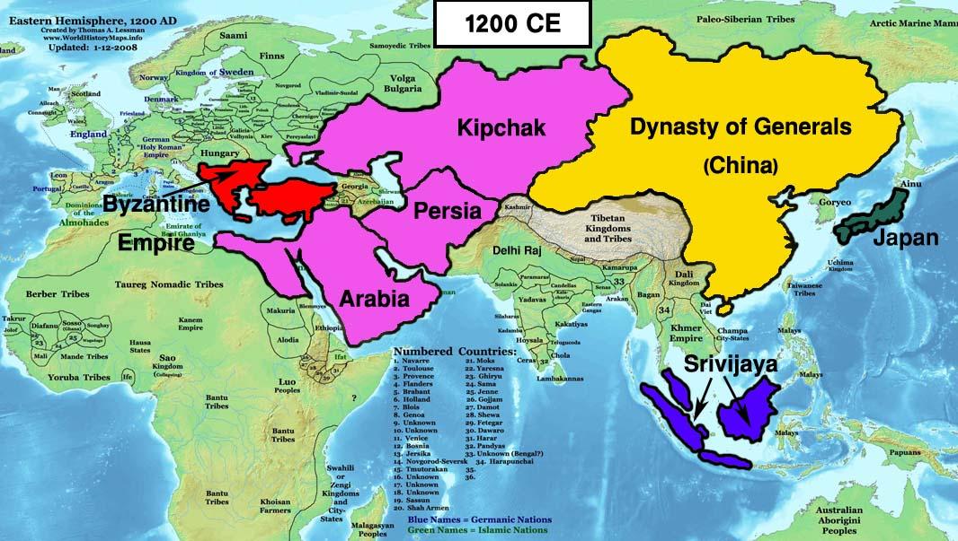 Easternized World Alternative History