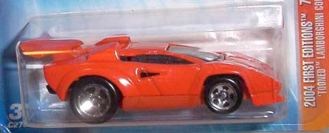 lamborghini countach 39 tooned hot wheels wiki. Black Bedroom Furniture Sets. Home Design Ideas