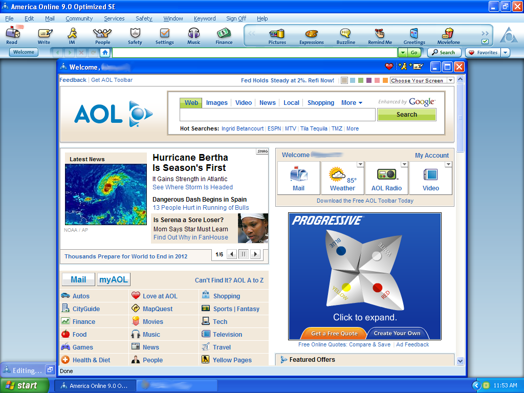 AOL Login Interface - America Online Wikia - The Wiki for ...