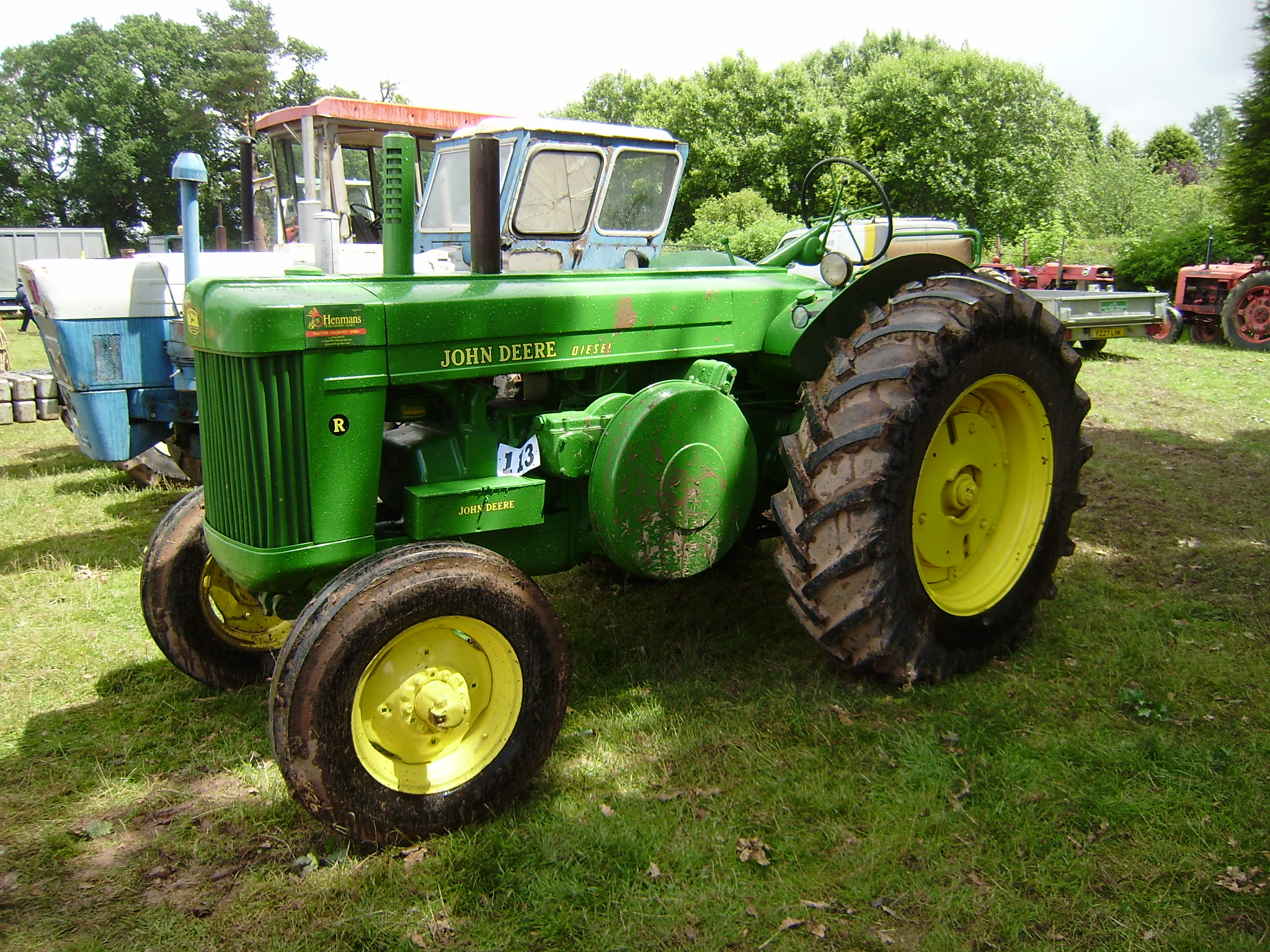 List Of John Deere Tractors Tractor Amp Construction Plant