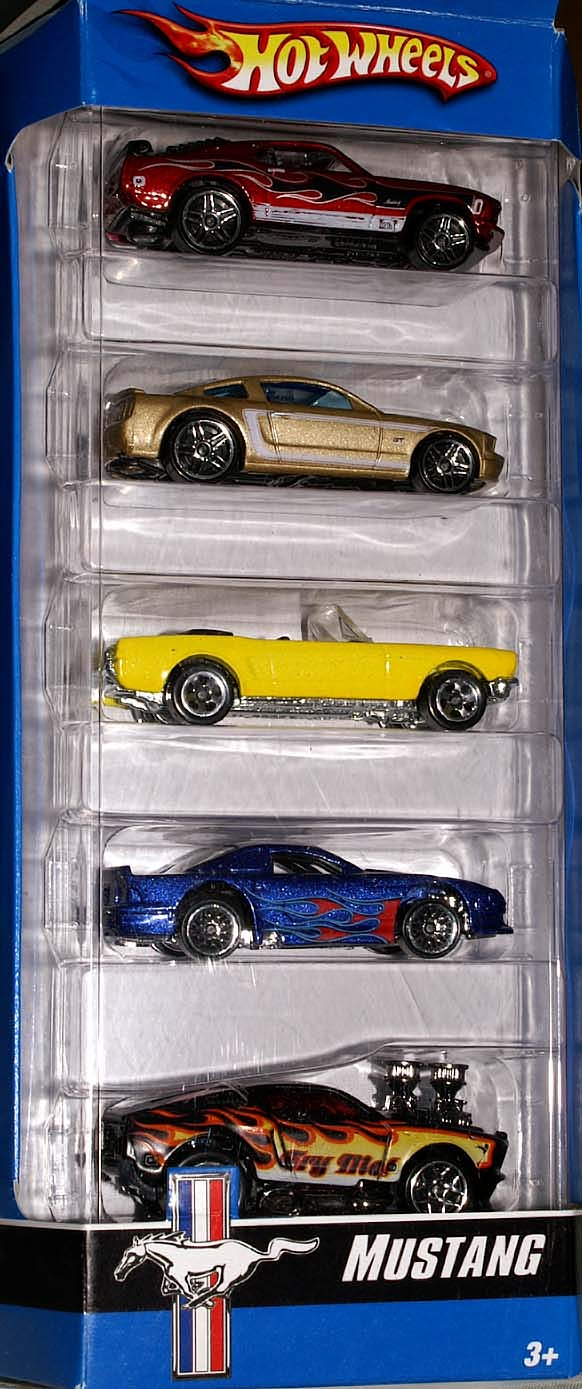 Mustang 5 Pack Hot Wheels Wiki