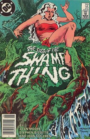 Cover for Swamp Thing #25 (1984)