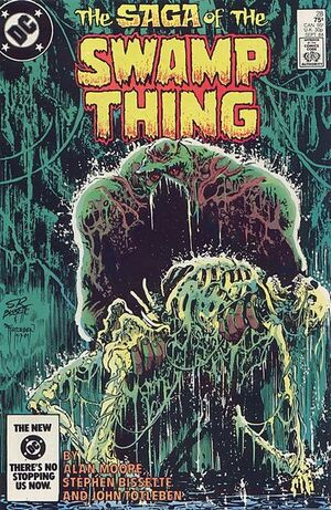 Cover for Swamp Thing #28 (1984)