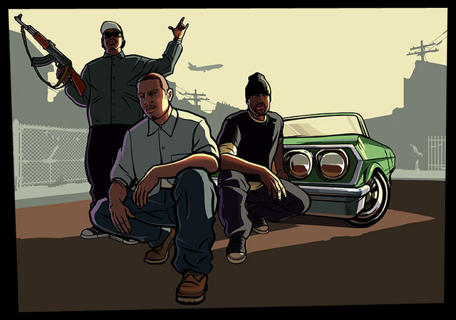 Artworks Del GTA San Andreas