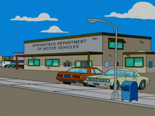 Department Of Motor Vehicles Simpsons Wiki