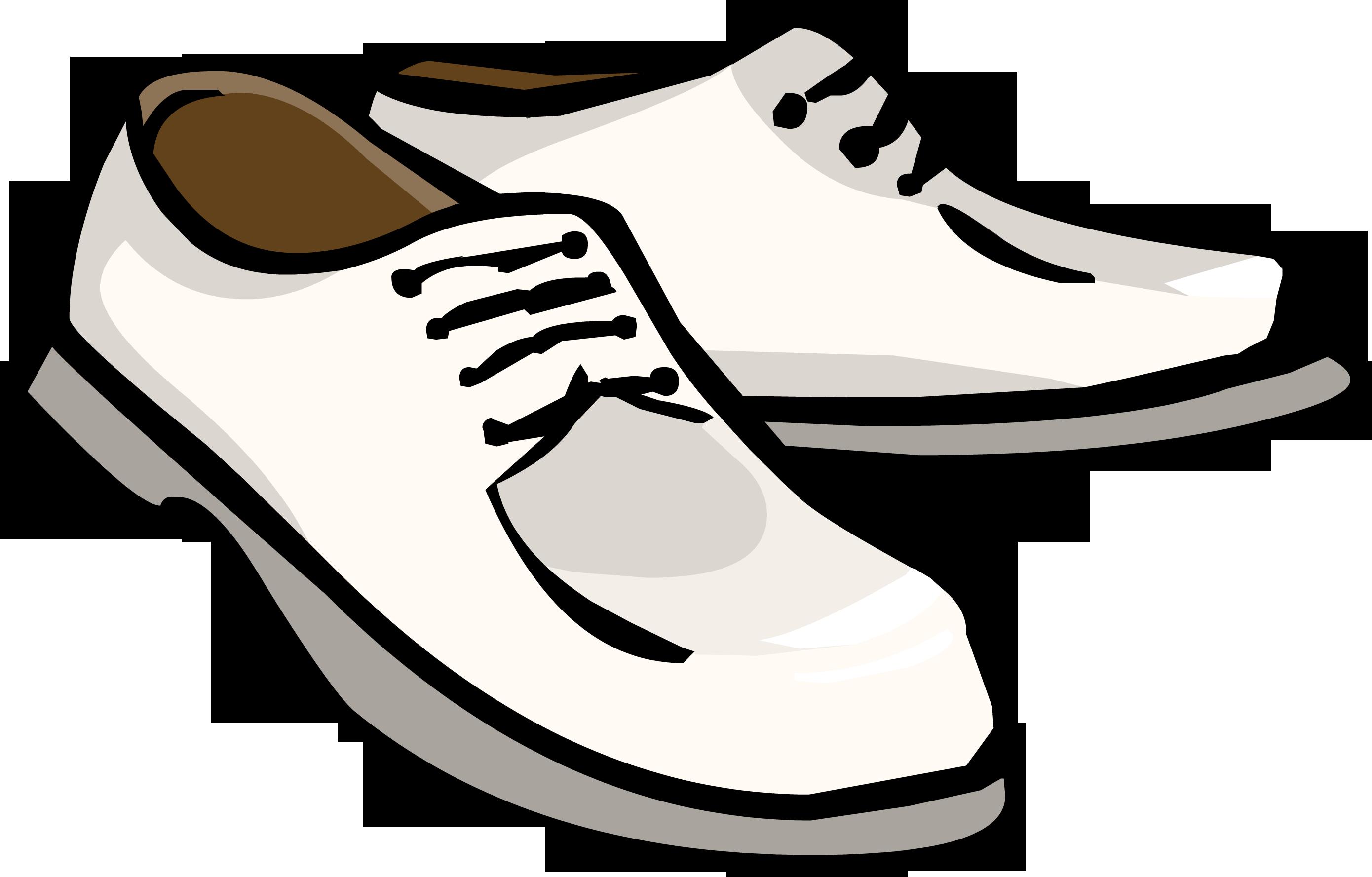 Club Penguin White Dress Shoes