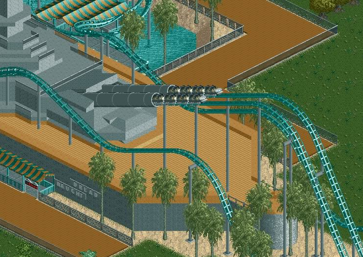 roller coaster tycoon 3 how to create adventure zone