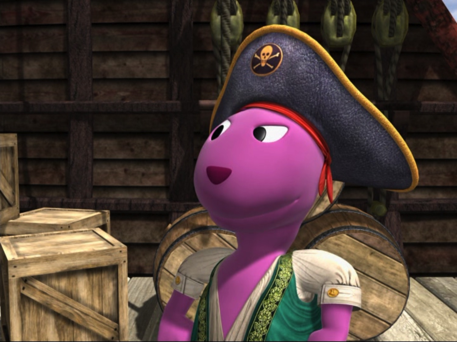 Pirate Captain Austin  The Backyardigans Wiki