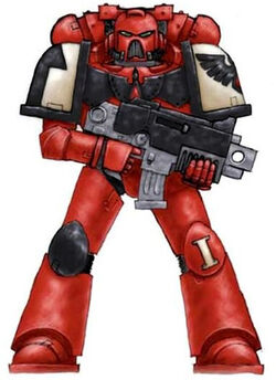Blood Ravens Marine