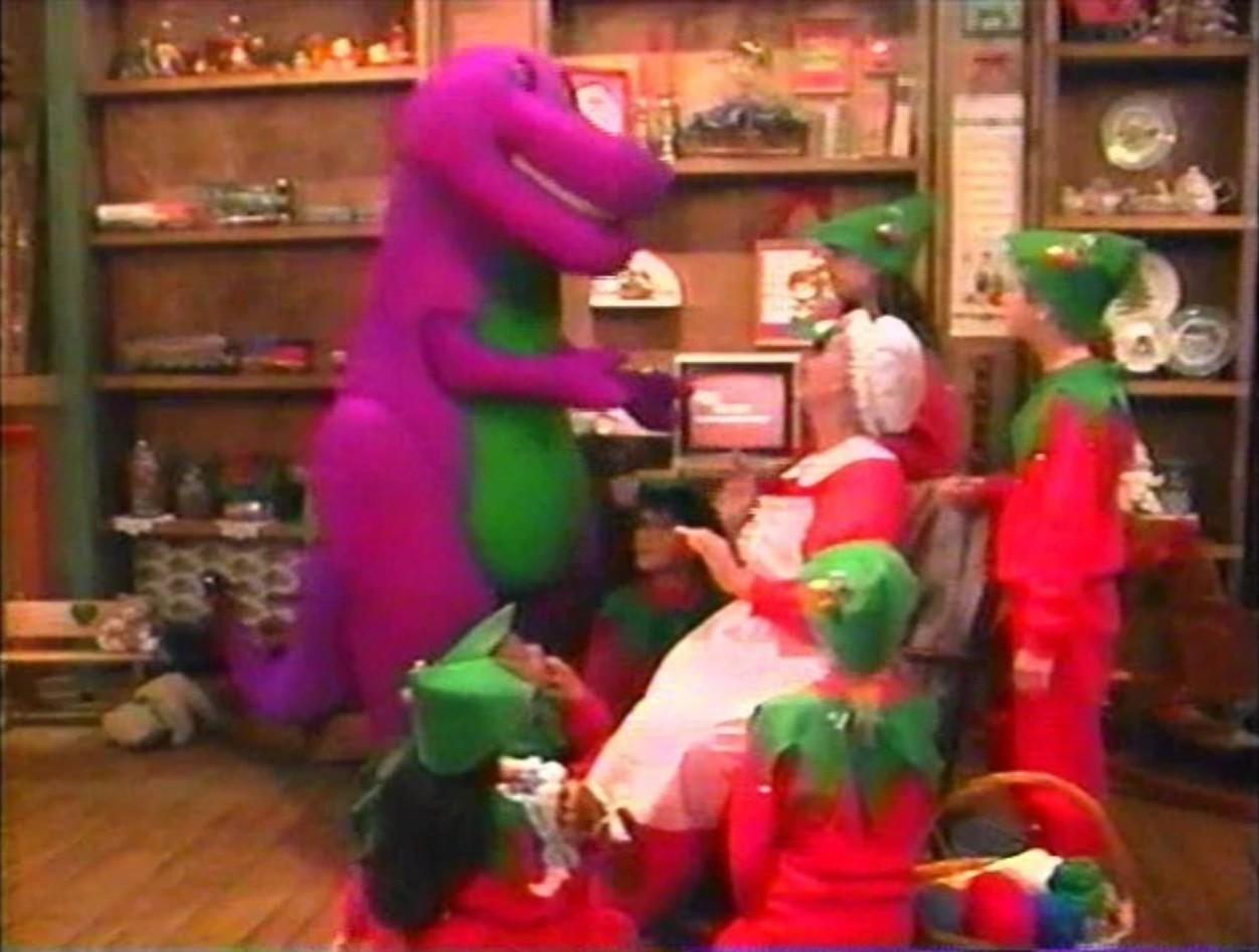 Waiting for Santa - Barney Wiki