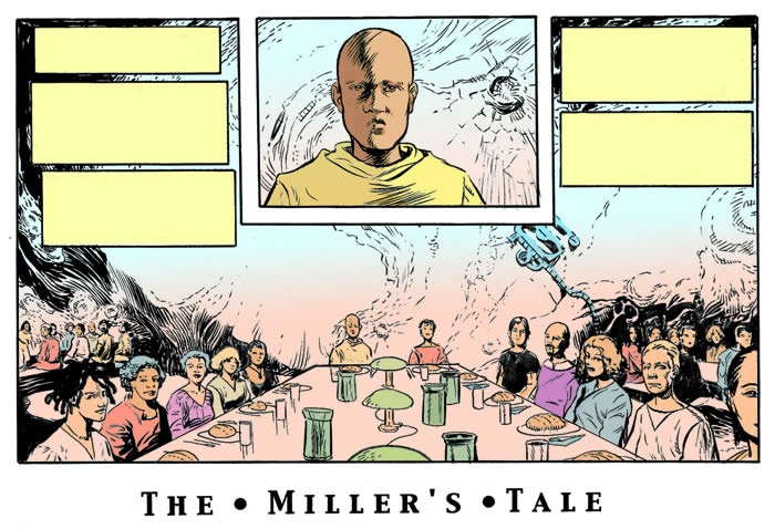 the millers tale Chaucer: the miller's tale - a student's guide introduction this study guide is intended for gce advanced level students, but is suitable for university students and the general reader who is interested in chaucer and the canterbury tales.
