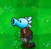 Better version of snow pea zombie by gatlingpeaz