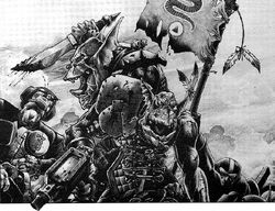 Snakebite Orks vs. Imperial Guard