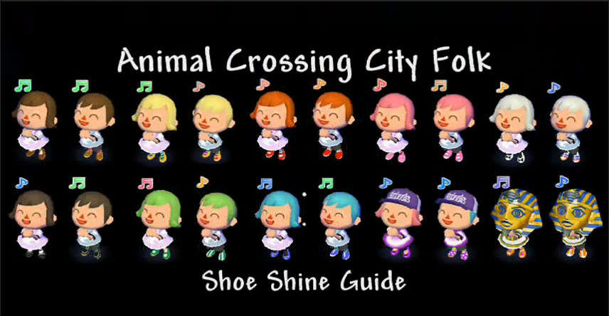 Image Accf Shoe Shine Guide Png Animal Crossing Wiki