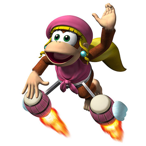 dixie kong donkey kong wiki the encyclopedia about
