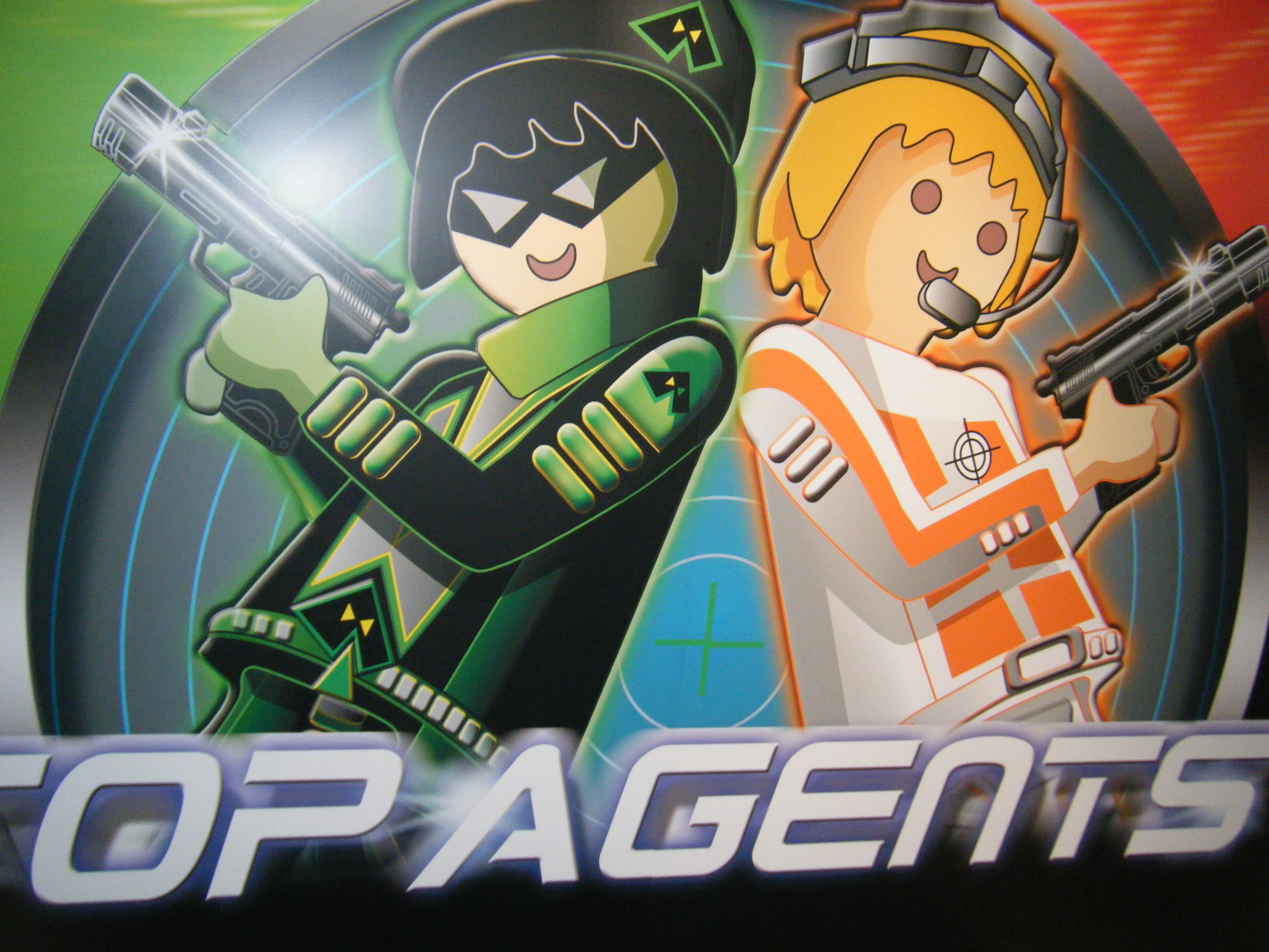 playmobil top agents wiki