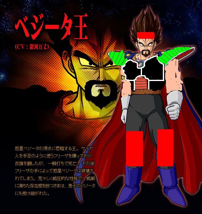 King vegeta-2King Vegeta And Bardock Fusion