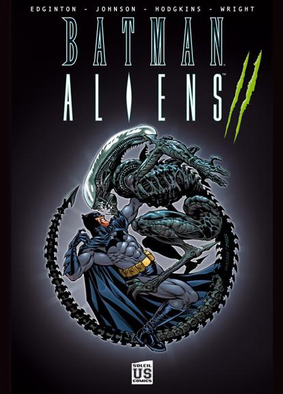 batman vs alien by - photo #27