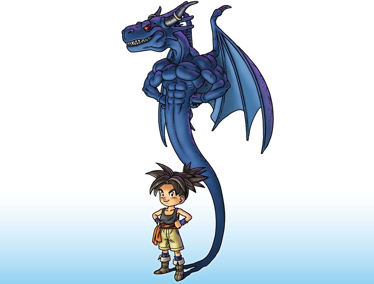 Blue dragon midget pics 1