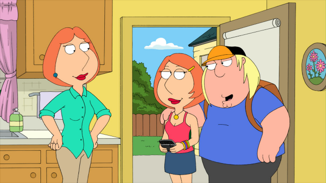 Family Guy Lois And Chris Griffin