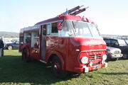 Commer Fire engine - JDF 234B at Toddington 2010 - IMG 4154