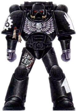 Iron Hands Space Marine