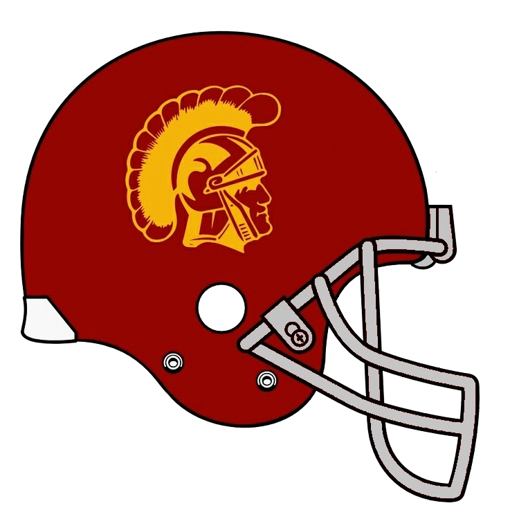 Football Helmet Logo Usc Trojans Football Helmet