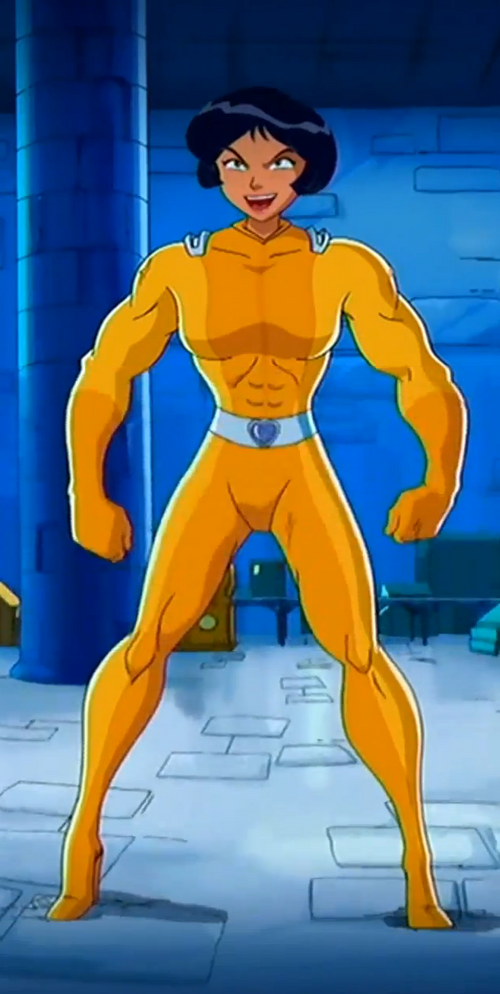 500px alex muscle 03 png - Totally spies alex ...