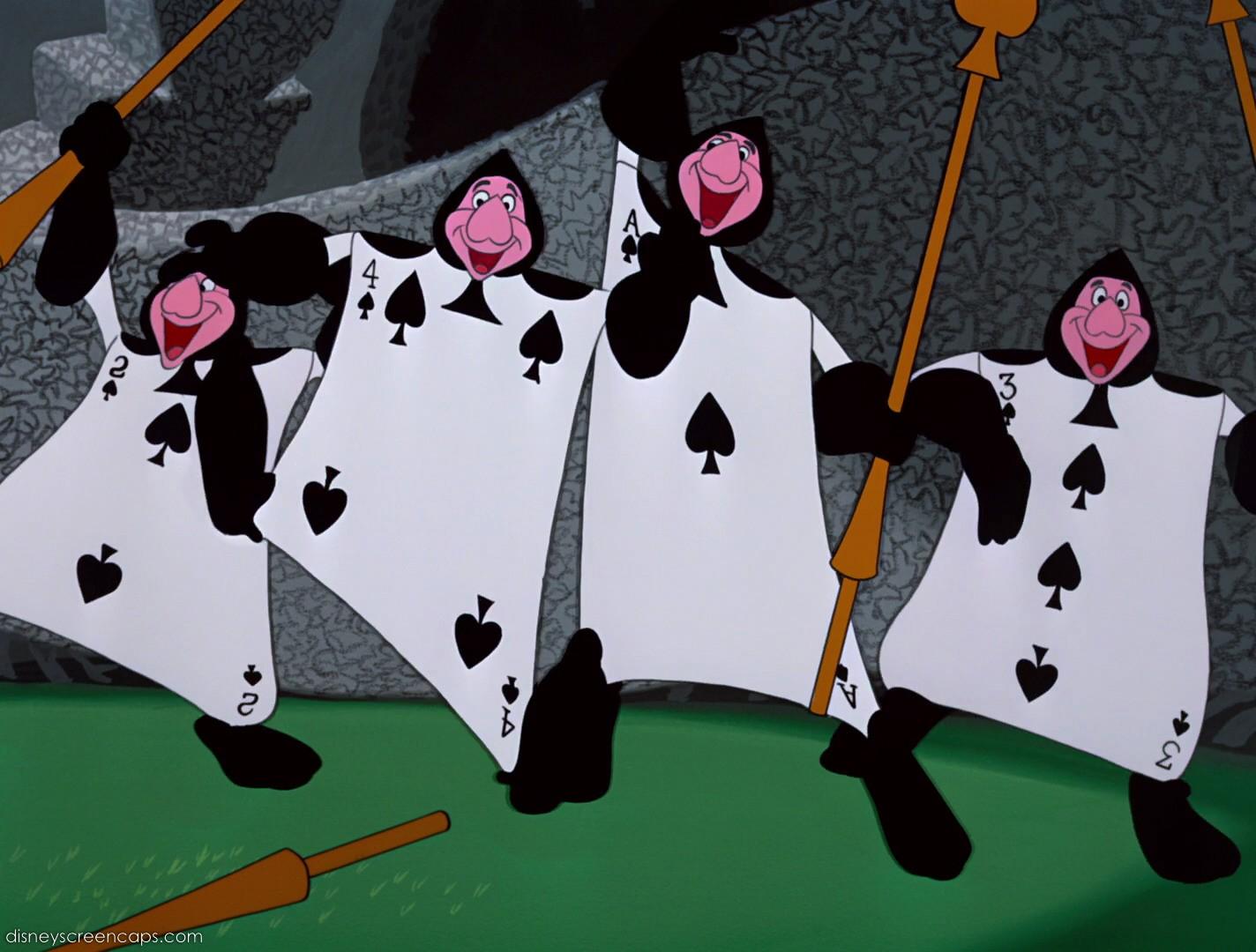 File Alice-disneyscreencaps com-7620 jpgAlice In Wonderland Characters Disney Card Guards