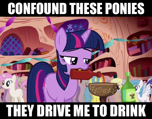 My Little Pony Drinking Game Rules