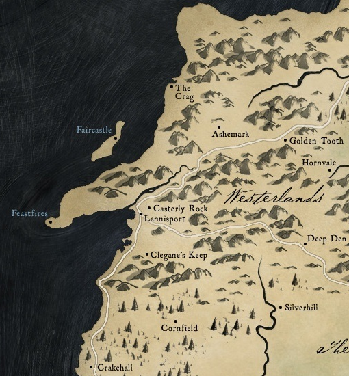 The Westerlands Game Of Thrones Wiki