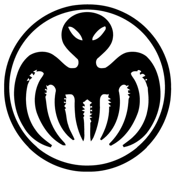 SPECTRE octopus ...007 Logo White
