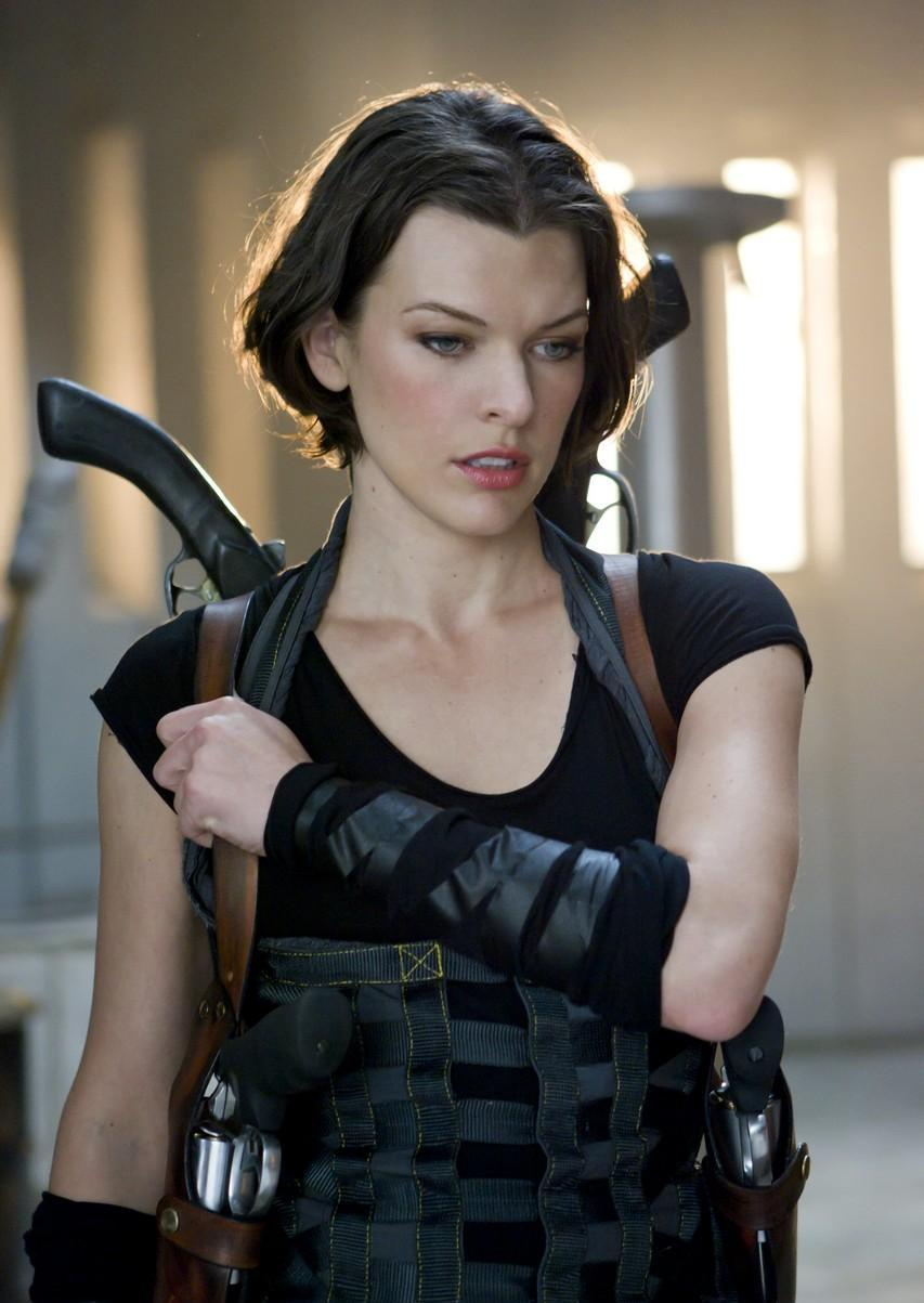 Milla Jovovich Resident Evil Afterlife