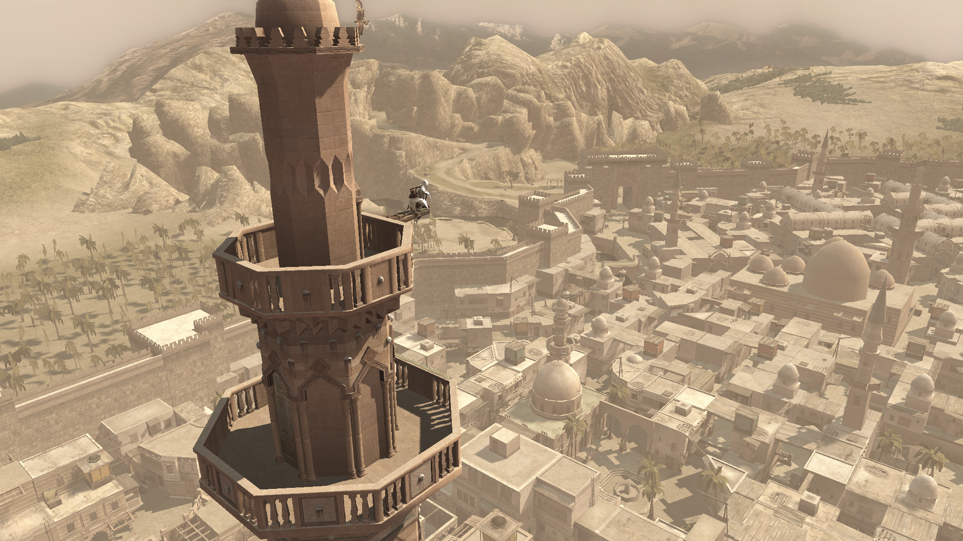 AC1 Altair Viewpoint Damascus - Assassin's Creed and I: Or How I learned to stop worrying and love the Creed