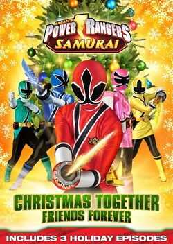 PowerRangerSamurai Christmas DVD