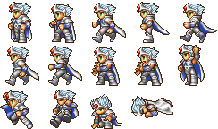 Final Fantasy IV The Complete Collection Sprite ImagesFinal Fantasy Iv Cecil Sprite