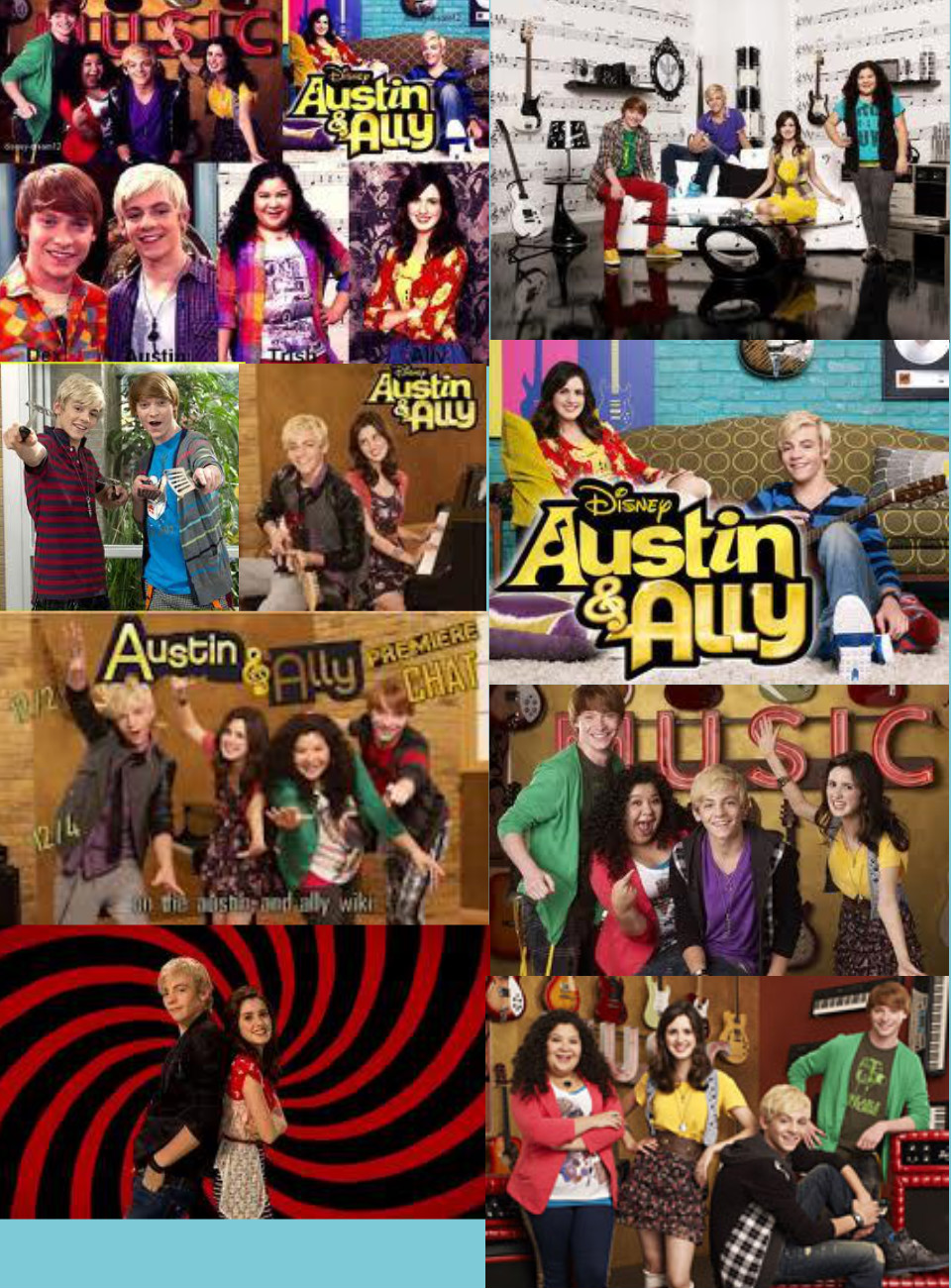 Is Austin dating ally on Austin and ally