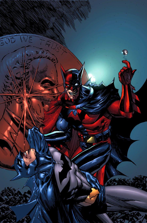 Two Face Feels Lucky In New Batman Arkham City Image: Batman: Long Shadows