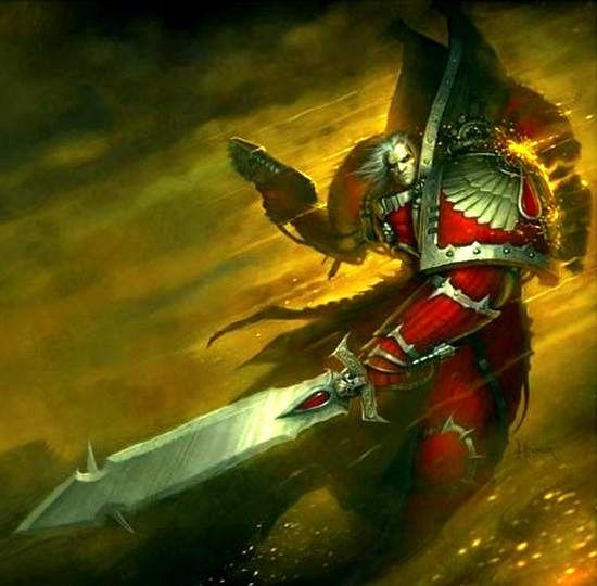 Warhammer 40k Blood Angels: Space Marines, Chaos