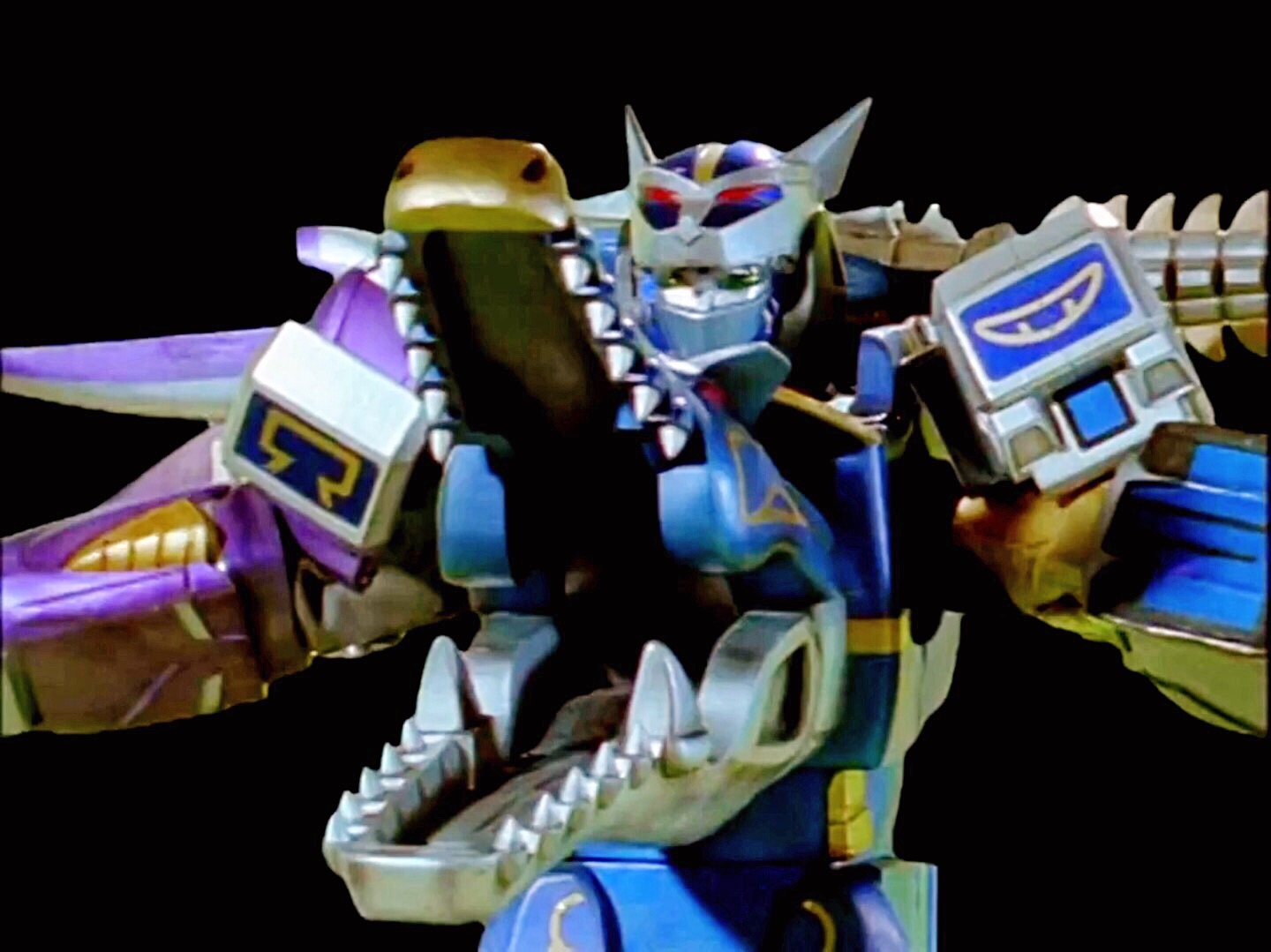 Blue wolf zord - photo#37