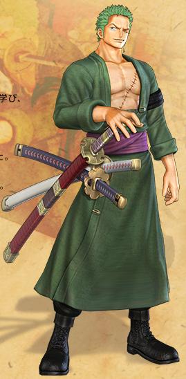 Zoro One Piece Time Skip Zoro Pirate Warriors 2...
