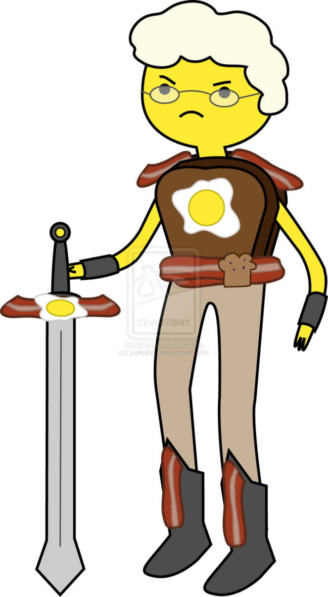 here s a pic i found that looks like AK1 as a breakfast person XDAdventure Time Breakfast Kingdom