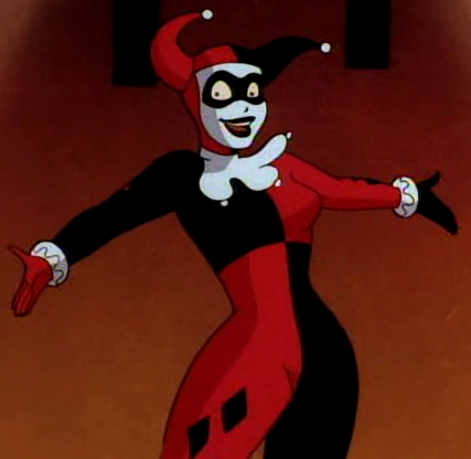 batman the animated series how to draw harley quinn
