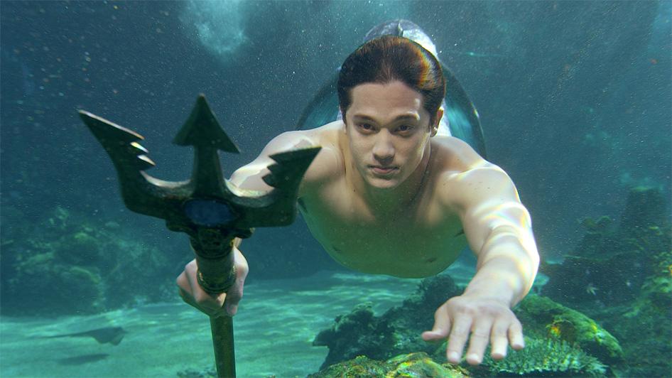 Mako Mermaids Zac as Merman